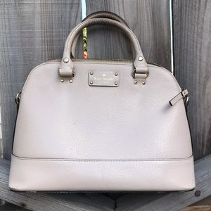 Kate Spade Pale Pink Rachelle Wellesley Purse